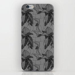 Croton in Grey iPhone Skin
