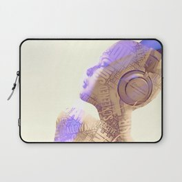 Your Words Are Meaningless II Laptop Sleeve