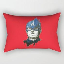 Captain A. Portrait Rectangular Pillow