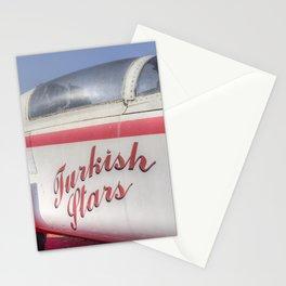 Northrop F5 Turkish stars Stationery Cards