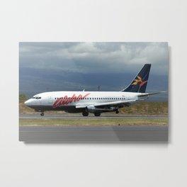 Aloha Airline 737-200 Metal Print