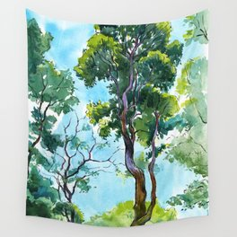 Old trees in Summer Garden, Saint Petersburg Wall Tapestry
