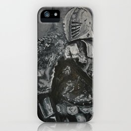 Winter Knight iPhone Case