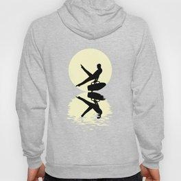 Moon Gymnastics Tee Shirt Hoody