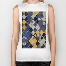Abstract Composition 390 Biker Tank