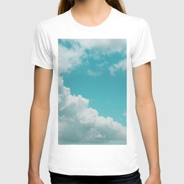 Bouncy Clouds Over Galveston T-shirt