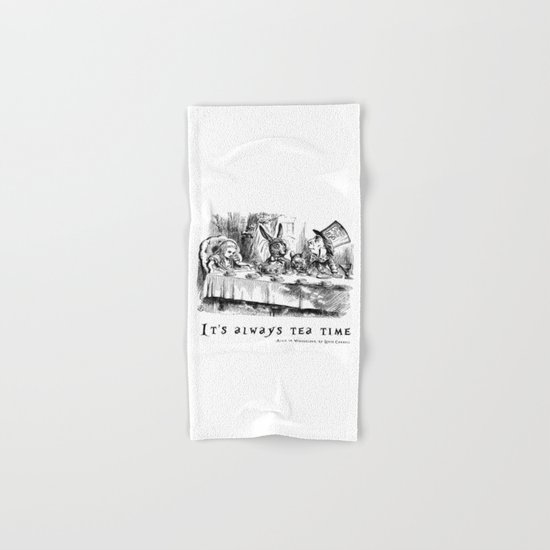 It's always tea time Hand & Bath Towel