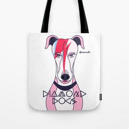 Diamonds Dogs Tote Bag
