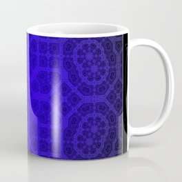 Blue Octogon Star Coffee Mug