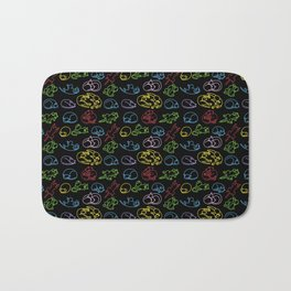 Sleeping cute cats Bath Mat