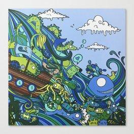 Waterslide no.1 Canvas Print