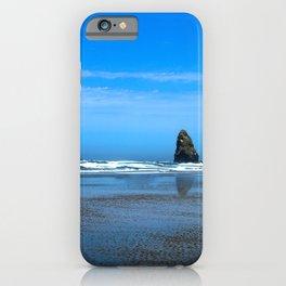 Haystack Rock Cannon Beach iPhone Case