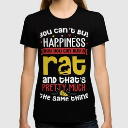Funny Rat product For Big Time Rat Fans and Rat Owners T-shirt