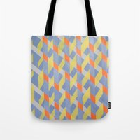 broken Tote Bags featuring Broken  by ronnie mcneil