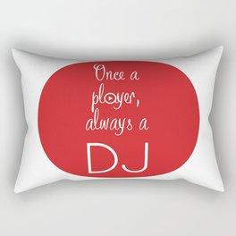 Always a DJ Rectangular Pillow