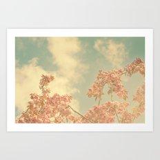 Spring Pink 02 Art Print