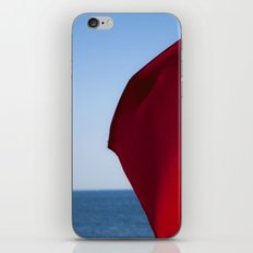 Red and Blue iPhone Skin