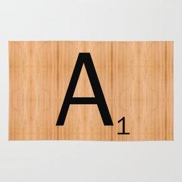 Scrabble Letter Tile - A Rug