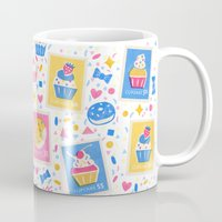 cupcakes Mugs featuring Cupcakes by Hui_Yuan-Chang