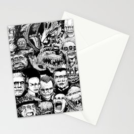 So Many Monsters Stationery Cards