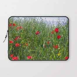 Poppy Meadow Laptop Sleeve
