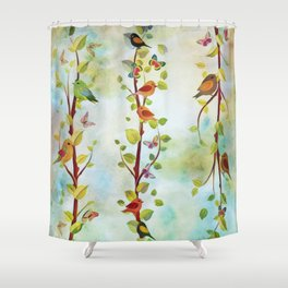 Spring Arrivals Shower Curtain