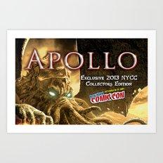 Apollo - NYCC 2013 Exclusive Art Print