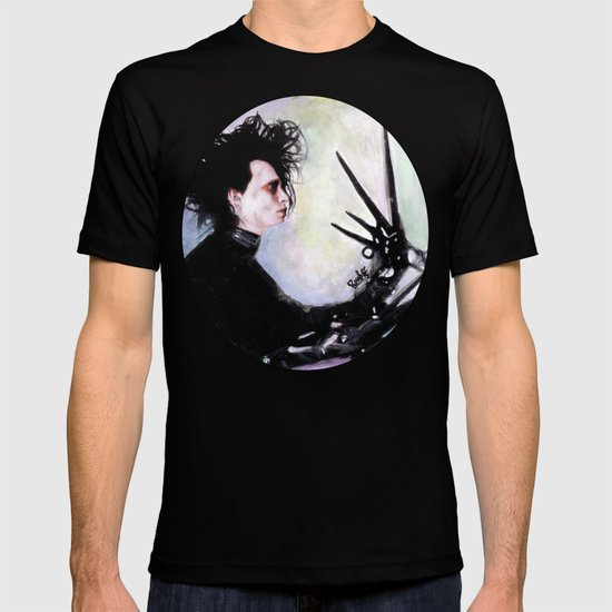 Edward Scissorhands: The story of an uncommonly gentle man. T-shirt
