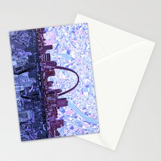 st louis city skyline Stationery Cards