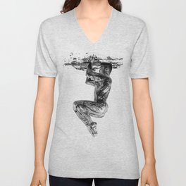 Hold the Ceiling Unisex V-Neck