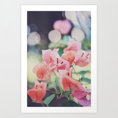 Floral Vintage Art Print