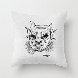 dagon. Throw Pillow