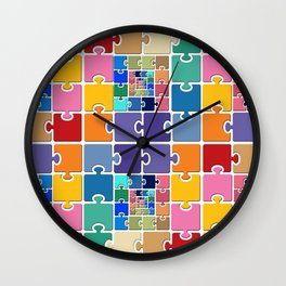 Puzzle Wall Clock
