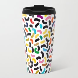 colored worms Travel Mug