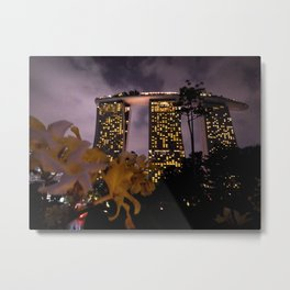 Experience the world of luxury Metal Print