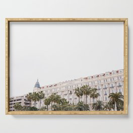 Pretty Cannes | Carlton hotel on the beach in the South of Spain | Color Serving Tray