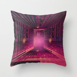 Enjoy the Labyrinth the Exit is an Illusion / 16-01-17 Throw Pillow
