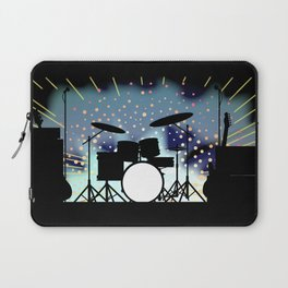 Bright Rock Band Stage Laptop Sleeve