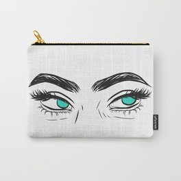 Unamused eyes Carry-All Pouch