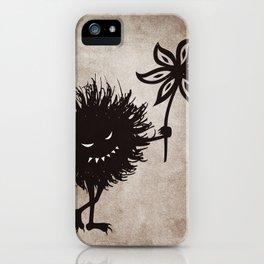 Evil Bug Gives Flower iPhone Case