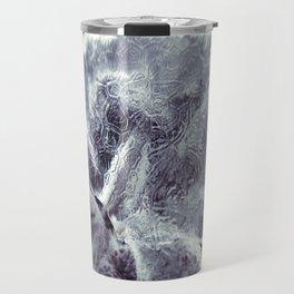 Ice Patterns Travel Mug