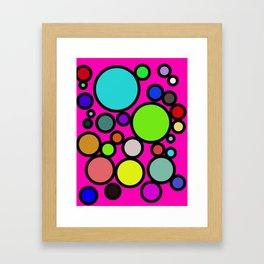 Circles Galore! Framed Art Print