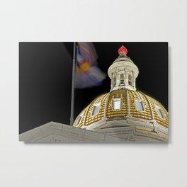 Denver Capitol  Metal Print