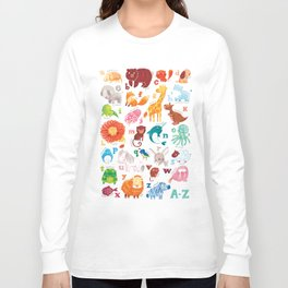 Animalphabet Long Sleeve T-shirt