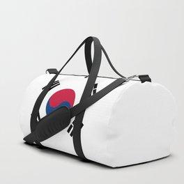 South Korean Flag Duffle Bag