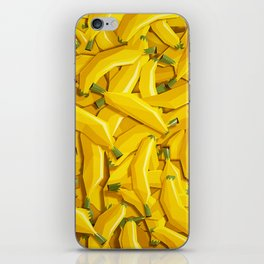 Too many bananas iPhone Skin