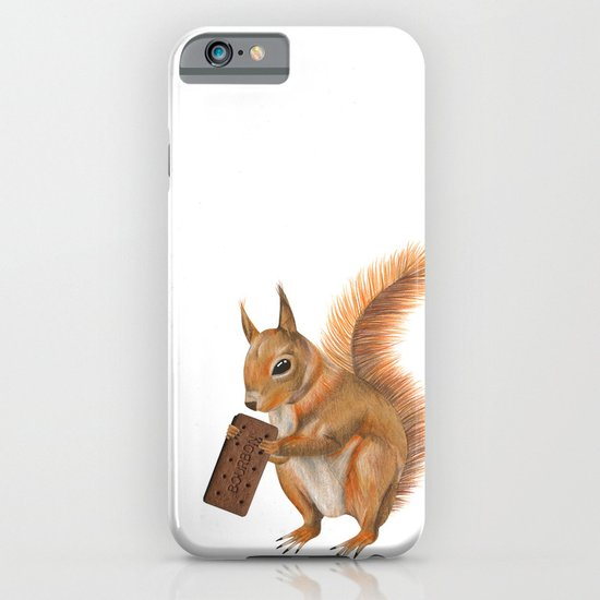 Super squirrel. iPhone & iPod Case