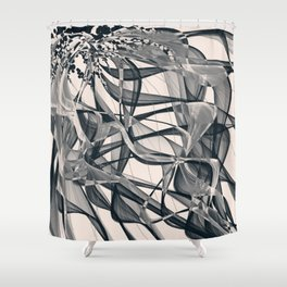 Distant Idealism Shower Curtain