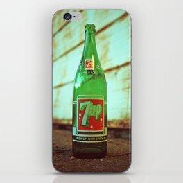 Nostalgic 7up bottle iPhone Skin
