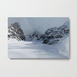 the mountain pass Metal Print